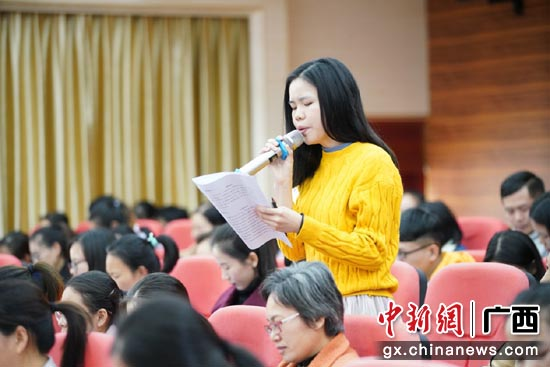"""11月28日,广西""""经典下基层""""活动之三——广西经典诵读骨干教师培训班。"""