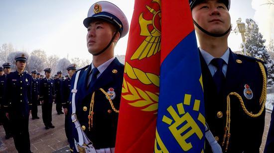 新疆维吾尔自治区森林消防总队正式挂牌