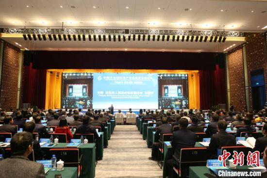 图为中国(百色)国际铝产业高质量发展论坛现场 林浩 摄