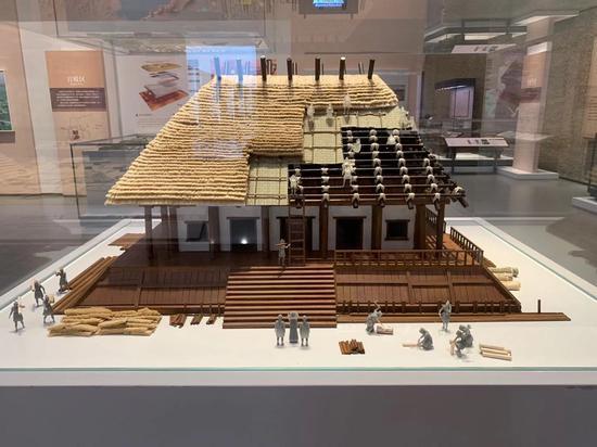 良渚博物院。郭其钰 摄