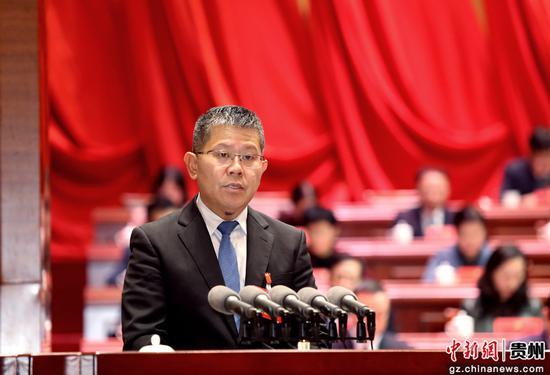 州委书记唐德智讲话。李庆红 摄