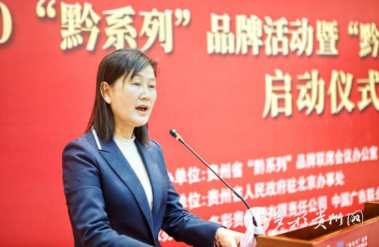 贵州省委统战部副部长、省民宗委主任石松江致辞