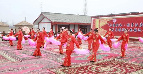 新疆汉西域都护府美食文化节开幕