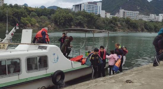 △海事部門救援現場