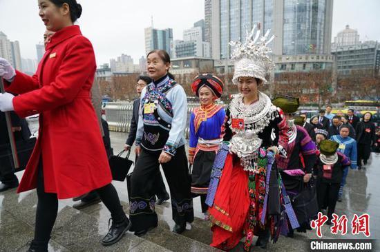 贵州省十三届人大三次会议15日在贵阳启幕。 瞿宏伦 摄
