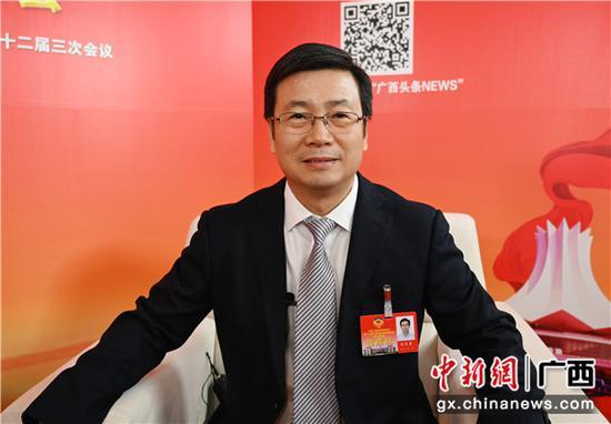 廣西政協委員劉天奇接受中新社專訪