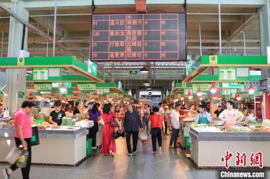 浙江公布省放心菜场三年创建数据:三年建成