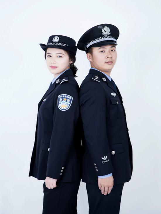 江鵬與其丈夫 警方提供