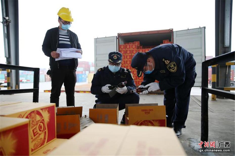 广西钦州保税港区:首月货物吞吐量实现两位数增长