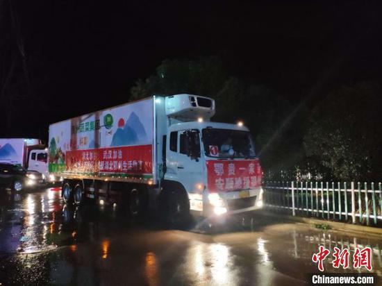 """驰骋1200公里贵州为鄂州送上160吨""""营养大礼包"""""""