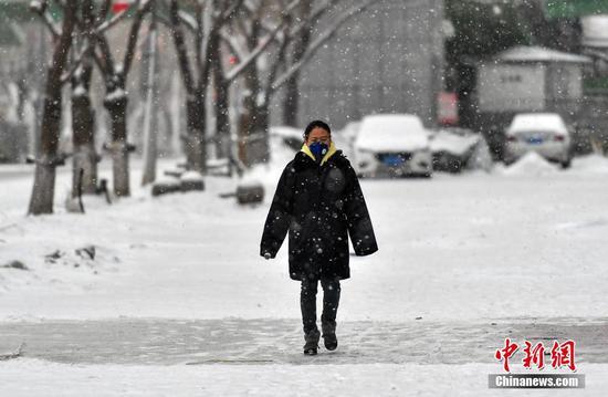 新疆乌鲁木齐迎降雪天气