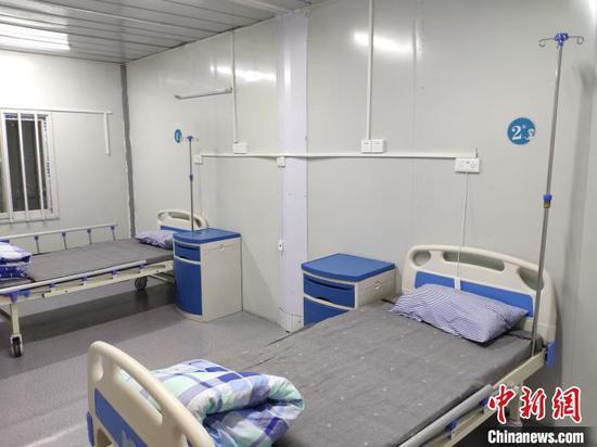 湖北鄂州雷山医院二期工程投入使用 首批接收64名患者