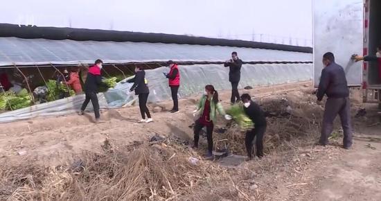 新疆巴州消防员心系武汉 联系家乡村民捐赠7.5吨蔬菜