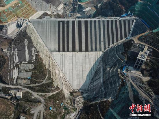 贵州最大水利枢纽工程有序复工