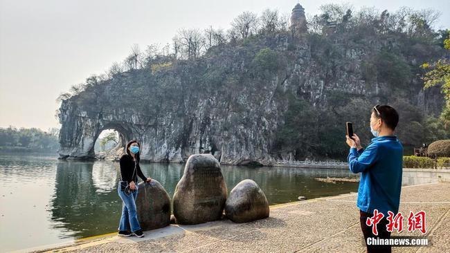 广西桂林象山景区正式对外恢复开放