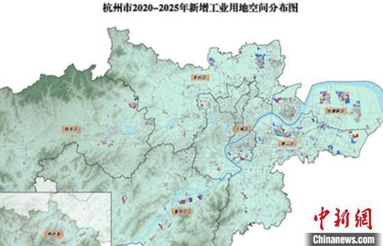 杭州发布全球招商产业用地计划 3年将推出45