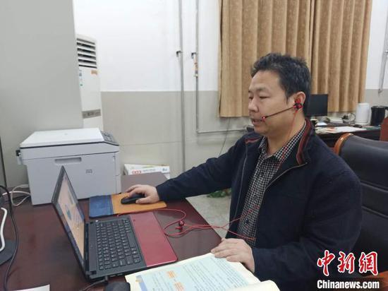 """抗""""疫""""不忘援疆""""云课堂""""架起""""豫新""""师生情"""