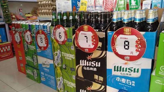 """乌苏啤酒实施""""无接触式""""配送 安全服务到家"""
