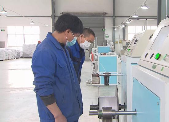 兰溪一企业进行生产线组装调试  兰溪提供