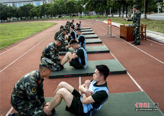 开春第一考:武警广西总队组织营连职干部提职考核