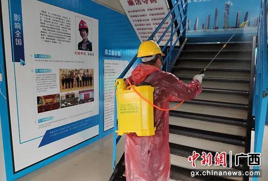 """中建五局柳州保税物流中心项目吹响""""防疫+生产""""双号角"""
