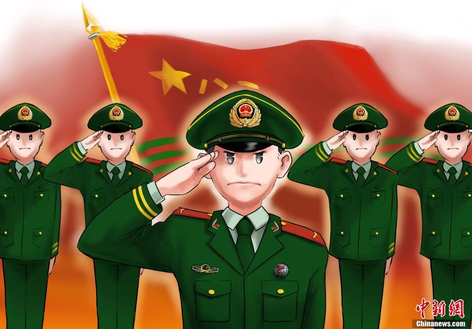 """广西""""00""""后武警新兵""""漫说""""列兵成长之路"""