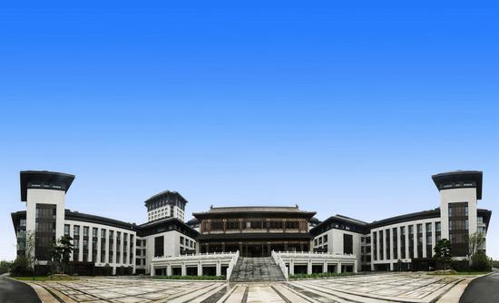 文渊中学校园。 校方提供