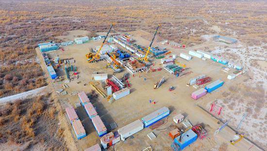 中石化西北油田加快搬迁复工 提速油气生产