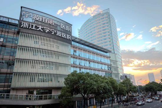 宁波市第一医院一景。  宁波市第一医院供图