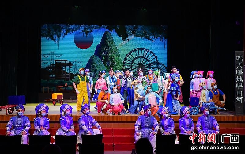 广西戏剧演职人员复工 复排彩调剧《新刘三姐》