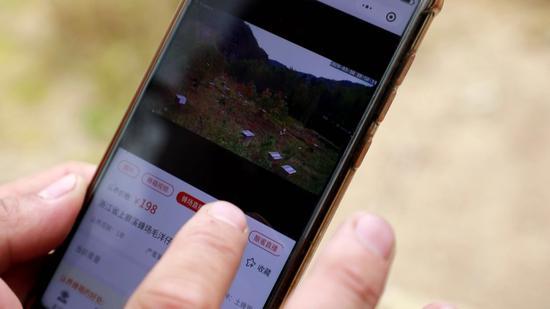 客户通过微信小程序可实时观看蜂场情况 泰顺宣传部供图