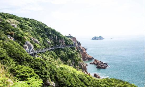 浙江零感染海岛迎来首批团队游客