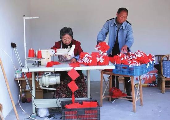 武义县19个乡镇(街道)来料加工业实现全覆盖  武义宣传部提供