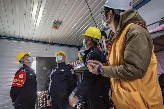 乌鲁木齐铁警复工生产消防安全不放松