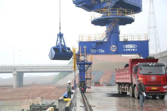 浙江衢州港吞吐量首破100萬噸 水運經濟發展