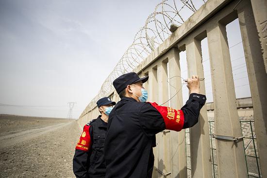 新疆鐵警切實加強鐵路沿線治安整治工作