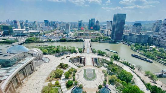 大運河(杭州段) 錢晨菲 攝