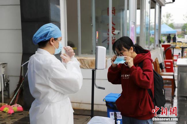 桂林高校畢業年級學生返校工作有序開展