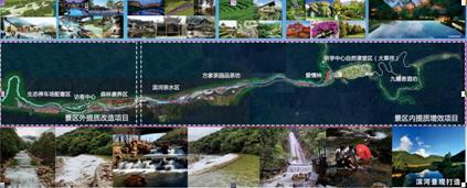 圖為姑婆山國家森林公園提質改造概念性規劃。