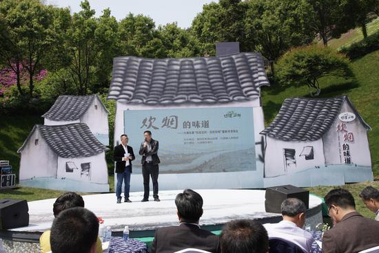 sunbet科学技术出版社社长汤弘亮接受采访。 主办方提供