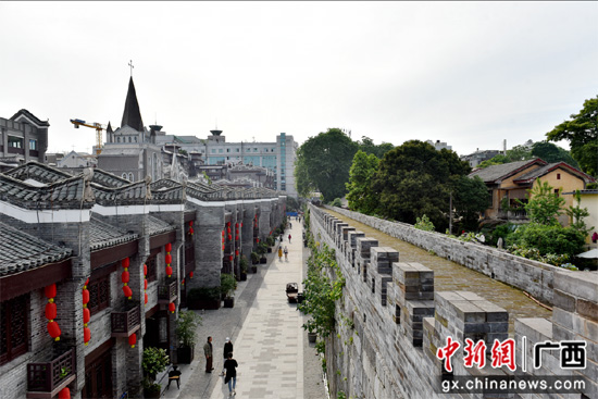桂林正阳西巷将开街 与正阳东巷遥相辉映