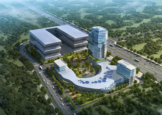 項目效果圖。  浙南科技城供圖