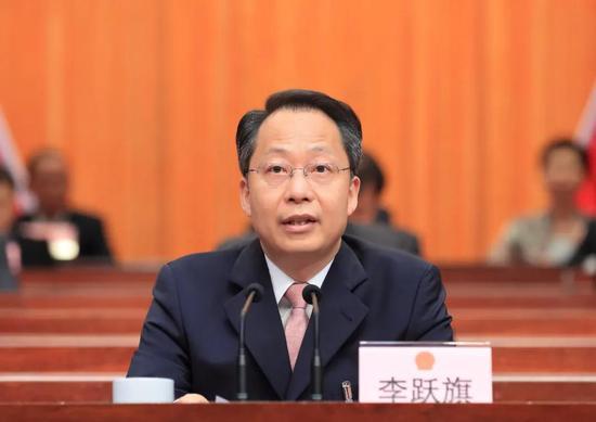 台州市委书记李跃旗发言 台州发布供图