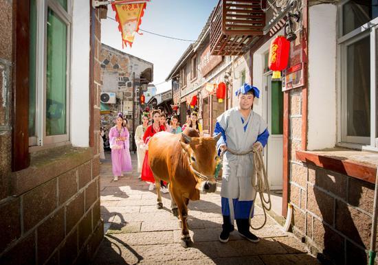 七夕文化是东岙村的特色。 洞头宣传部供图