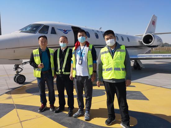 2020年新疆空管设备飞行校验侧记