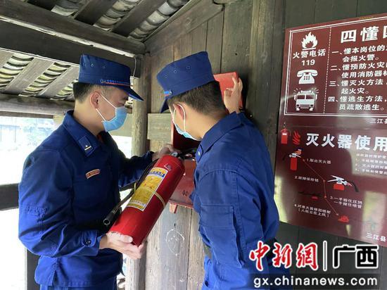 """柳州消防加强""""五一""""期间景区安全防控"""