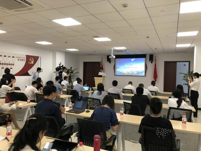 杭州海关组织对辖区生物医药企业召开进境生物材料改革新政宣讲会。杭州海关 供图