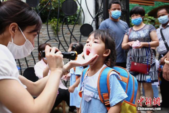 柳州幼儿园开学 幼儿园内不戴口罩