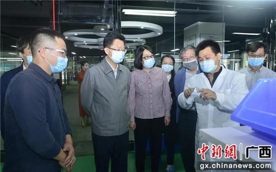广西助防护物资产业跨越发展 预