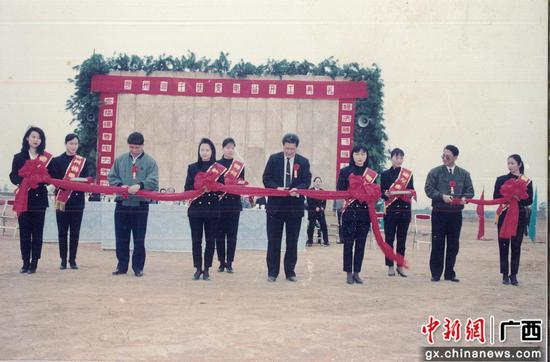 1993年,柳州供电局500千伏沙塘变电站开工。